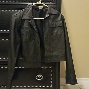 "Vintage ""Rebel Leather"" Easy Style Leather Jacket"
